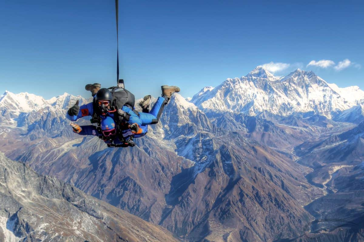 Everest Skydive Expedition Day1