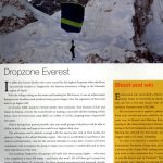 Everest Skydive on Action Asia Magazine