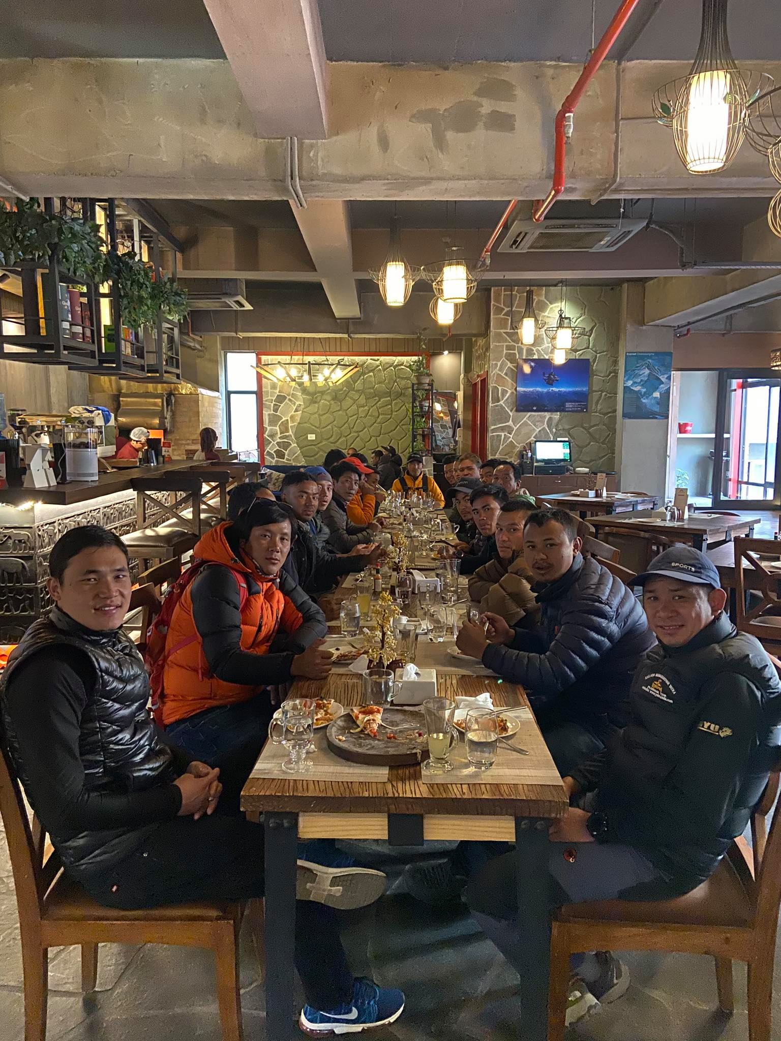 Explore Himalaya Guide Team Refreshment at Marcopolo Restaurant