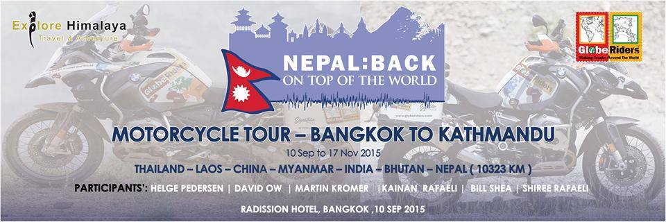 Nepal- Back on top of the world, Globe Riders Motorbike Journey