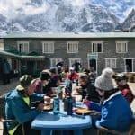 Food during Everest Base Camp Trek