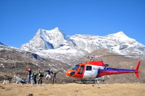 Adventure helicopter tour in Nepal