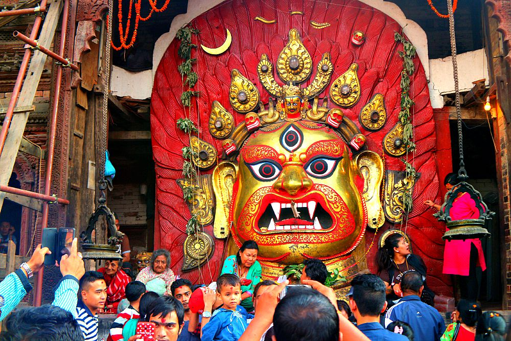 Indra jatra 2015, the major celebration in Kathmandu Valley after quake 2015