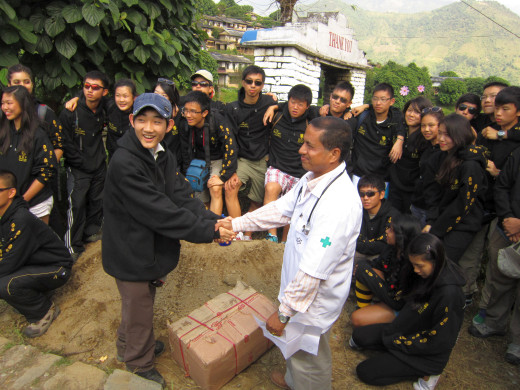 KGV School (Hong Kong) trip in Nepal - 1