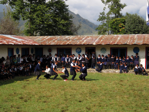 KGV School (Hong Kong) trip in Nepal - 12