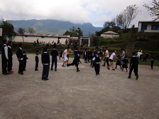 KGV School (Hong Kong) trip in Nepal - 14