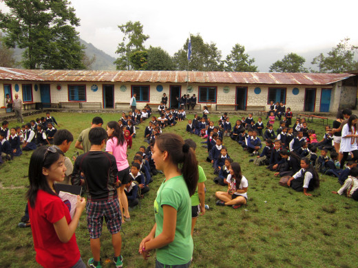 KGV School (Hong Kong) trip in Nepal - 16