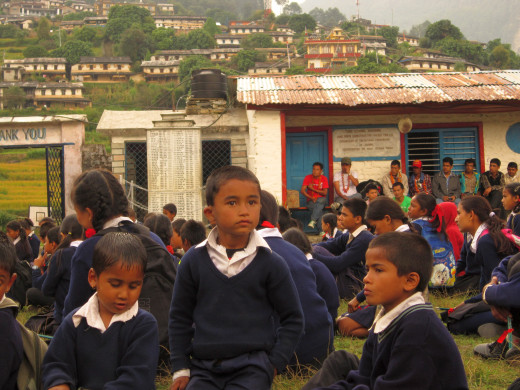 KGV School (Hong Kong) trip in Nepal - 17