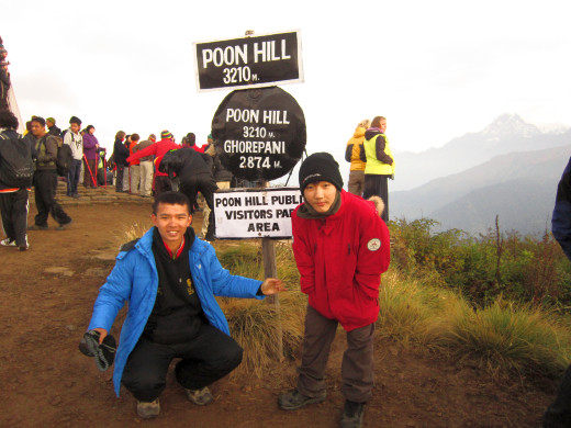 KGV School (Hong Kong) trip in Nepal - Poon Hill Trek
