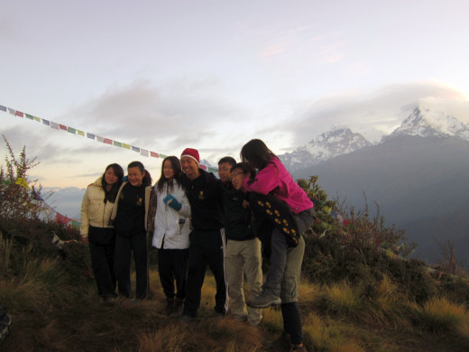 KGV School (Hong Kong) trip in Nepal - Poon Hill Trek - 2