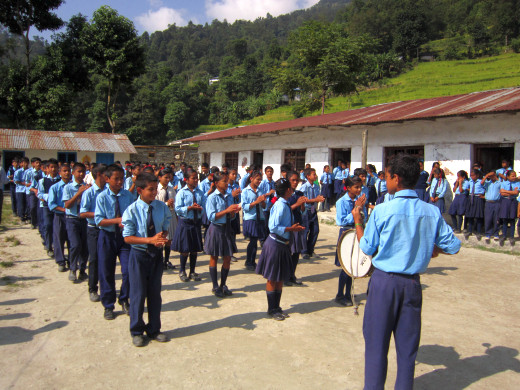 KGV School (Hong Kong) trip in Nepal - 3