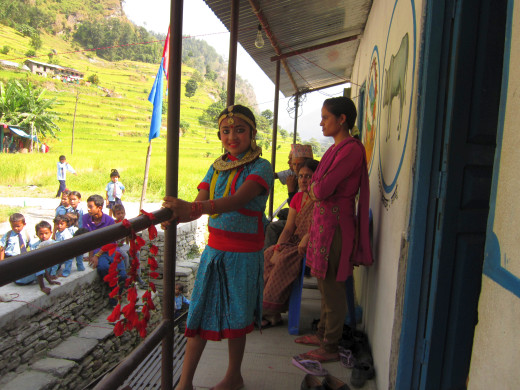 KGV School (Hong Kong) trip in Nepal - 4