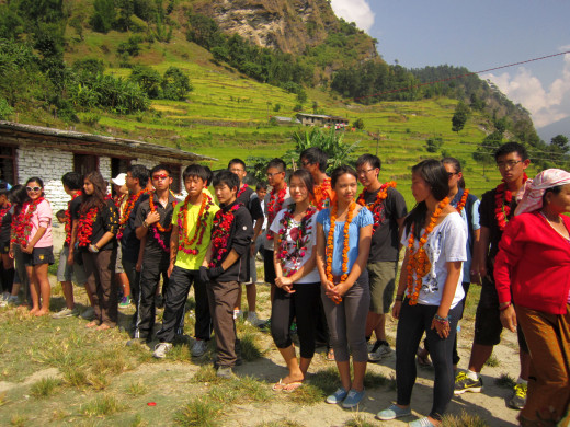 KGV School (Hong Kong) trip in Nepal - 6