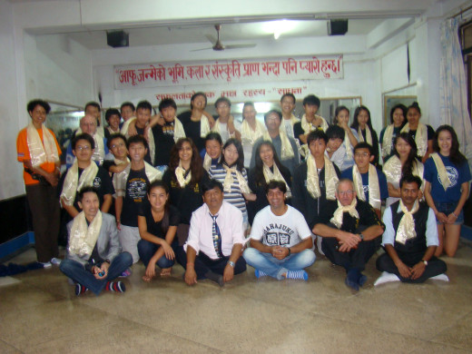 KGV School (Hong Kong) trip in Nepal - 9