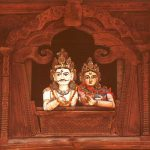 Lord Shiva & Goddess Parvati at Basantapur Durbar Square