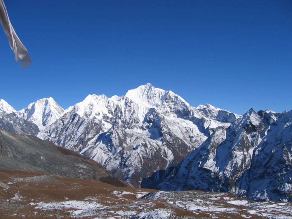 OMG! Mountains are so big - Langtang close up