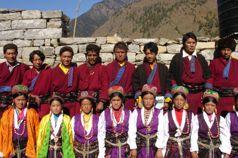 Handsome lads and beautiful ladies- Langtang