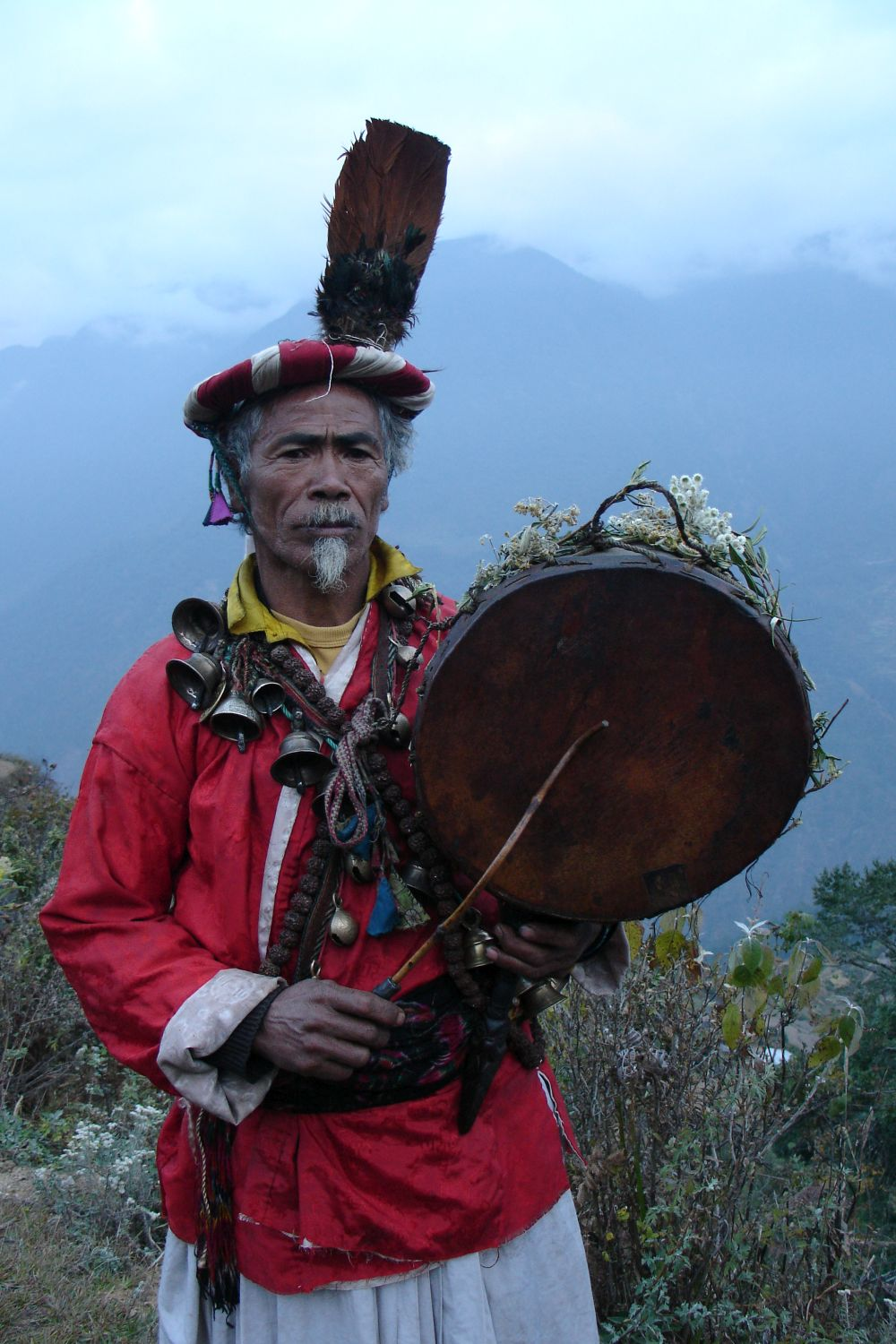Shamanism- the culture practiced for ages in Nepal