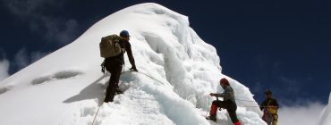 Lhakpa Ri Climbing