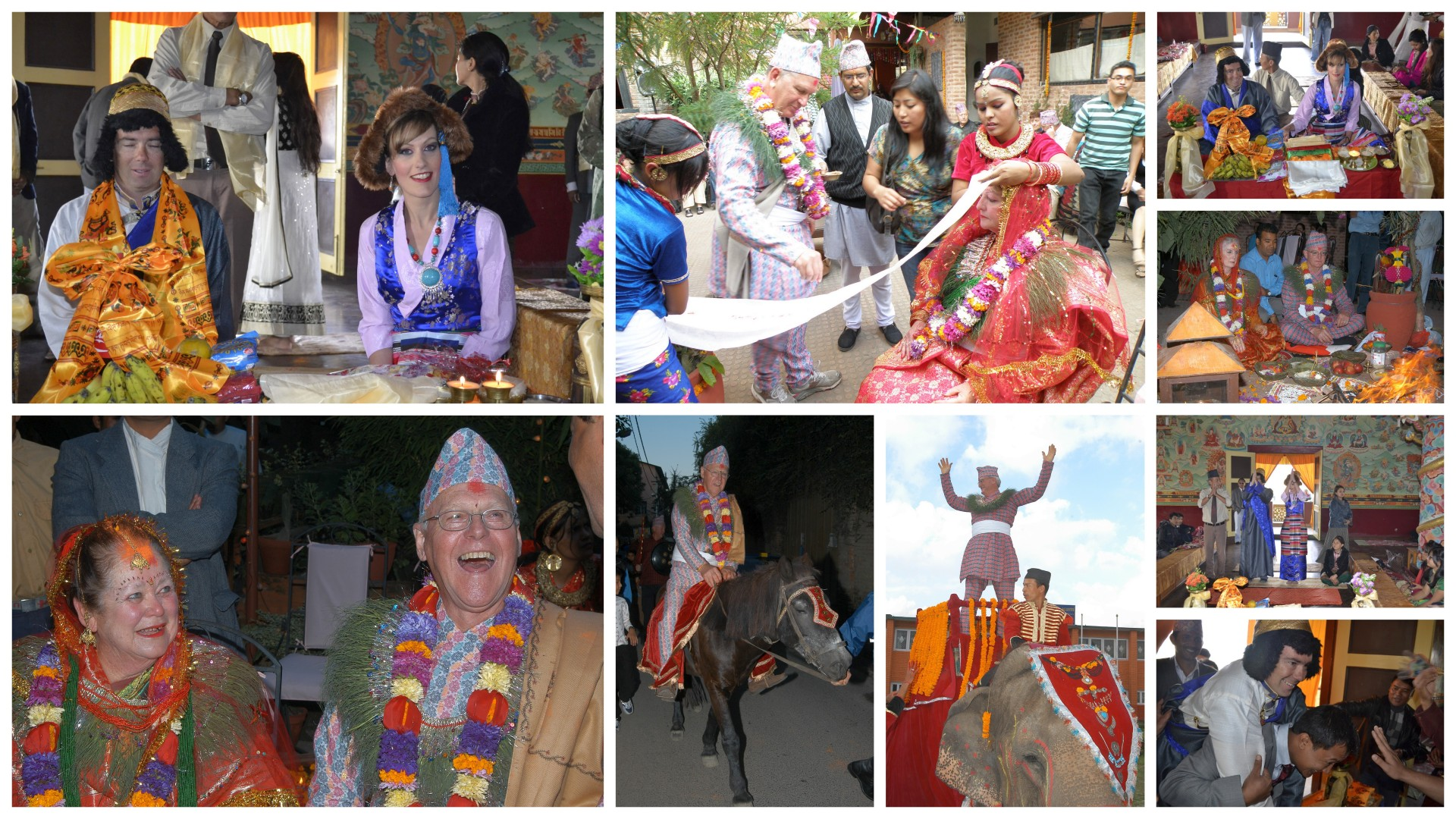 Mock Marriage in Nepal - Traditional Nepali wedding for foreigners