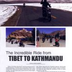 Nepal Traveller features Explore Himalaya's Tibet Motorbike Ride