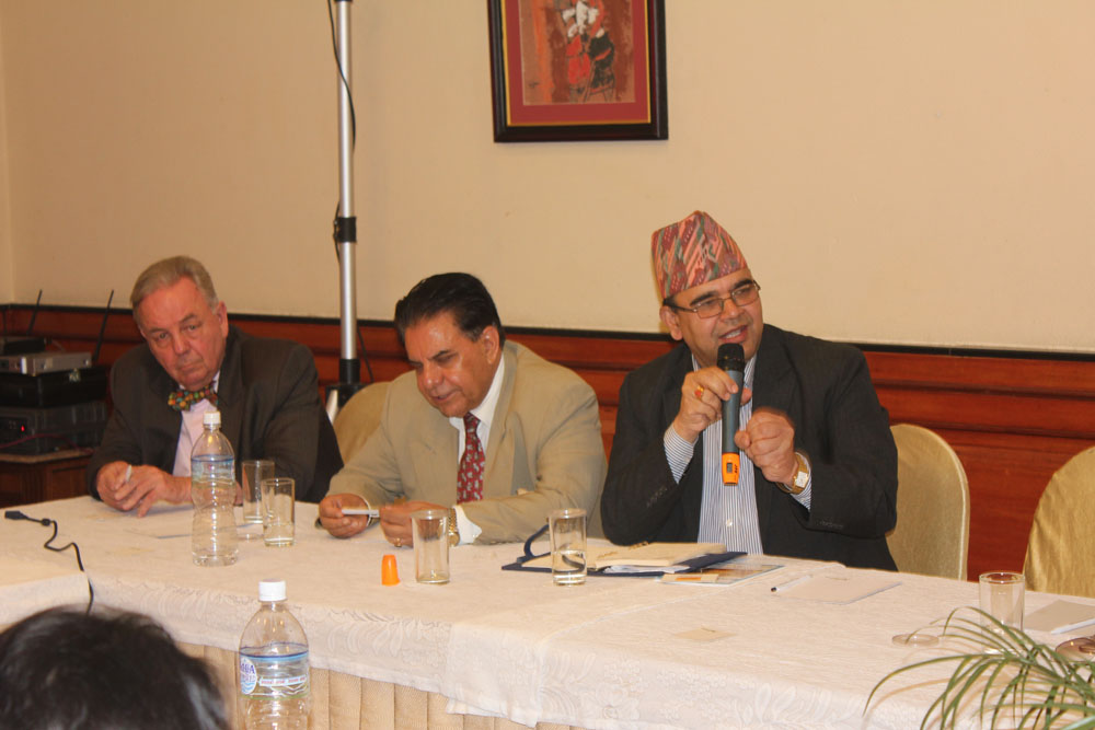 The Chief Administrative Officer of Nepal Tourism Board expressing his vision