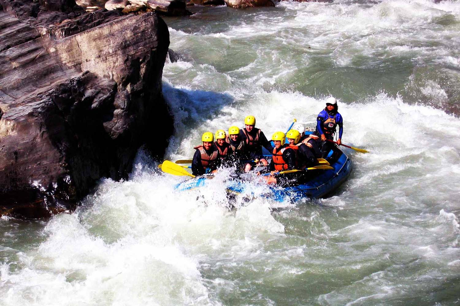Kathmandu and Pokhara with Rafting