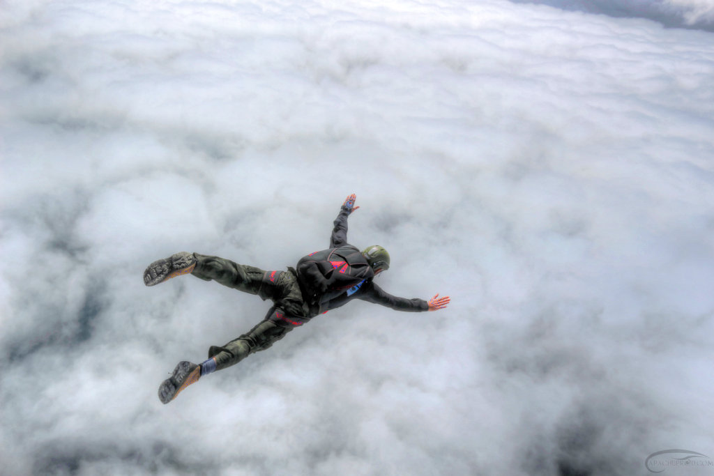 Have you ever swum in the clouds?