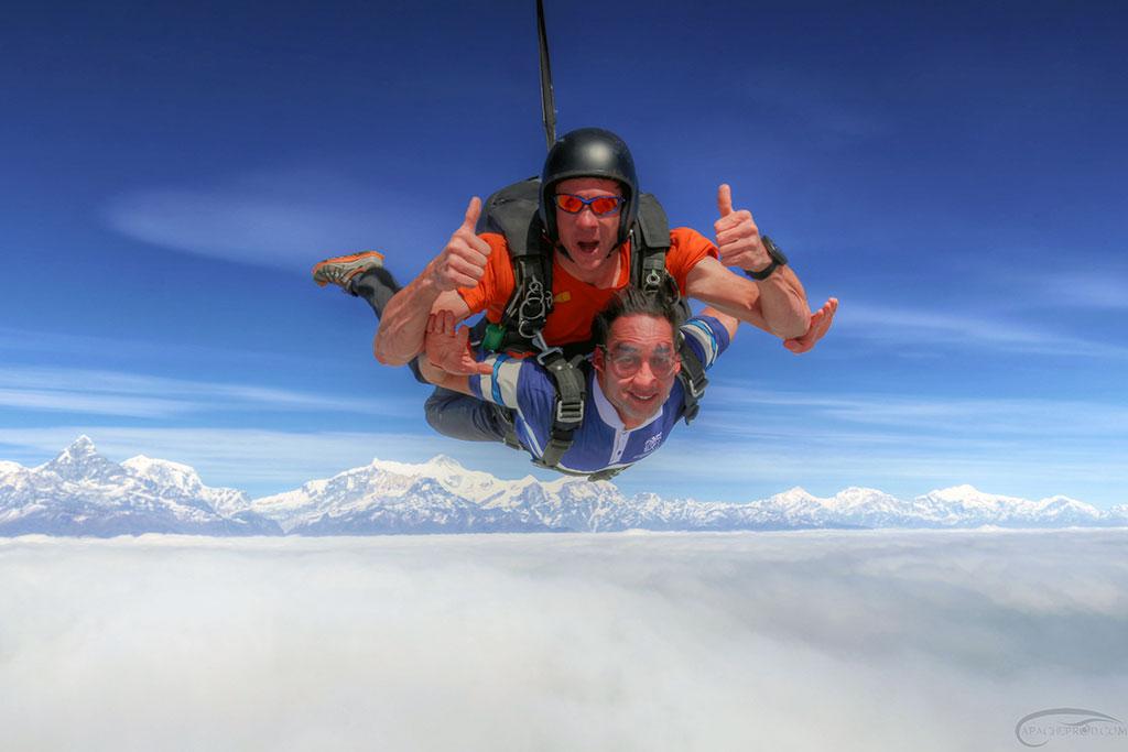 pokhara skydive 2015