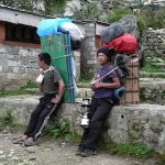 Clothing Bank for Trekking Workers in Lukla
