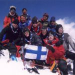 Finnish Scouts' Team summit Baden Powell Peak