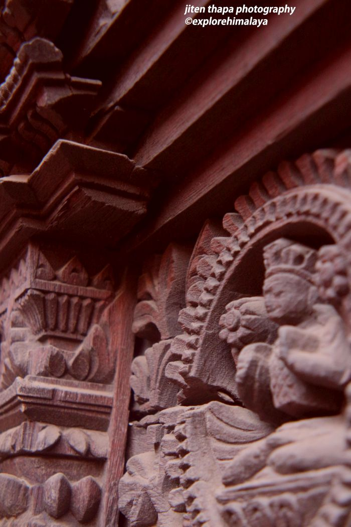 Every bit of Patan Durbar Square is artistic