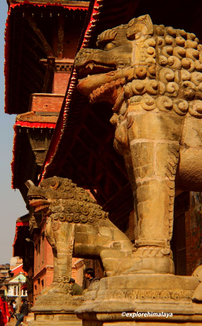 The guards of Patan Durbar Square