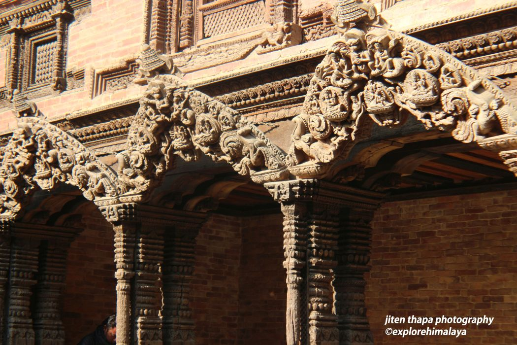 The perfect example of woodcarving- Patan Durbar Square