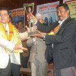 Mr.Suman Pandey is Gantabya Nepal's 'Tourism Man of the Year 2010'