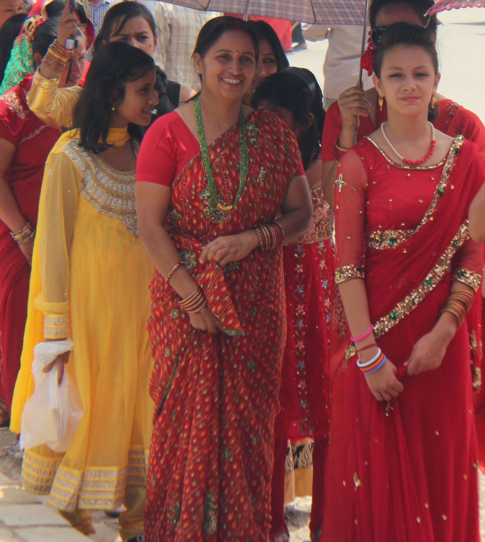 Married women fast for husband's prosperity, unmarried fast anticipating rightful husband during Teej