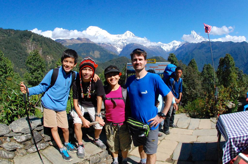 Traveling to Nepal with children