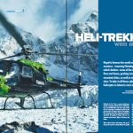 Article on Heli Trekking in TravelTimes Magazine