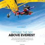 Article on Everest Skydive in TravelTimes magazine