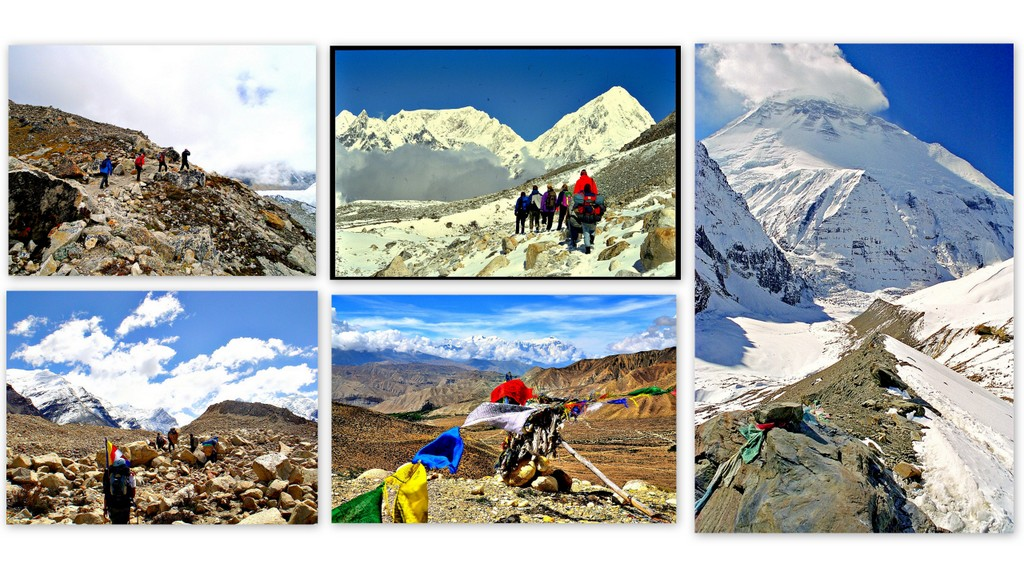 Trekking in the Nepalese Himalayas