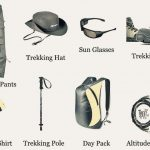 Required trekking gears during a trek in Nepal