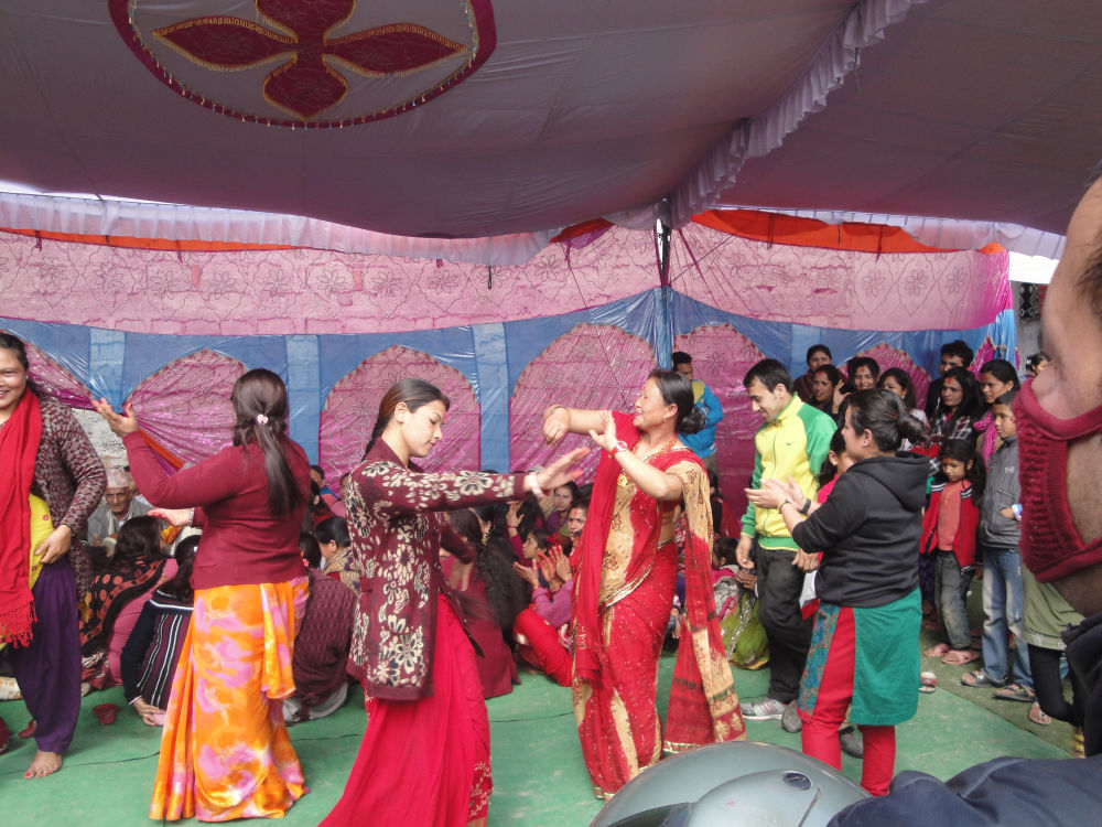 Observing cultural program at SOS Pokhara