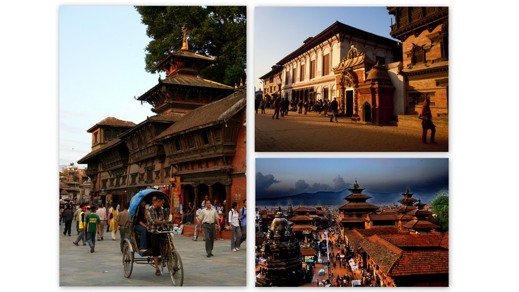 UNESCO World Heritage sites - Kathmandu, Patan, Bhaktapur