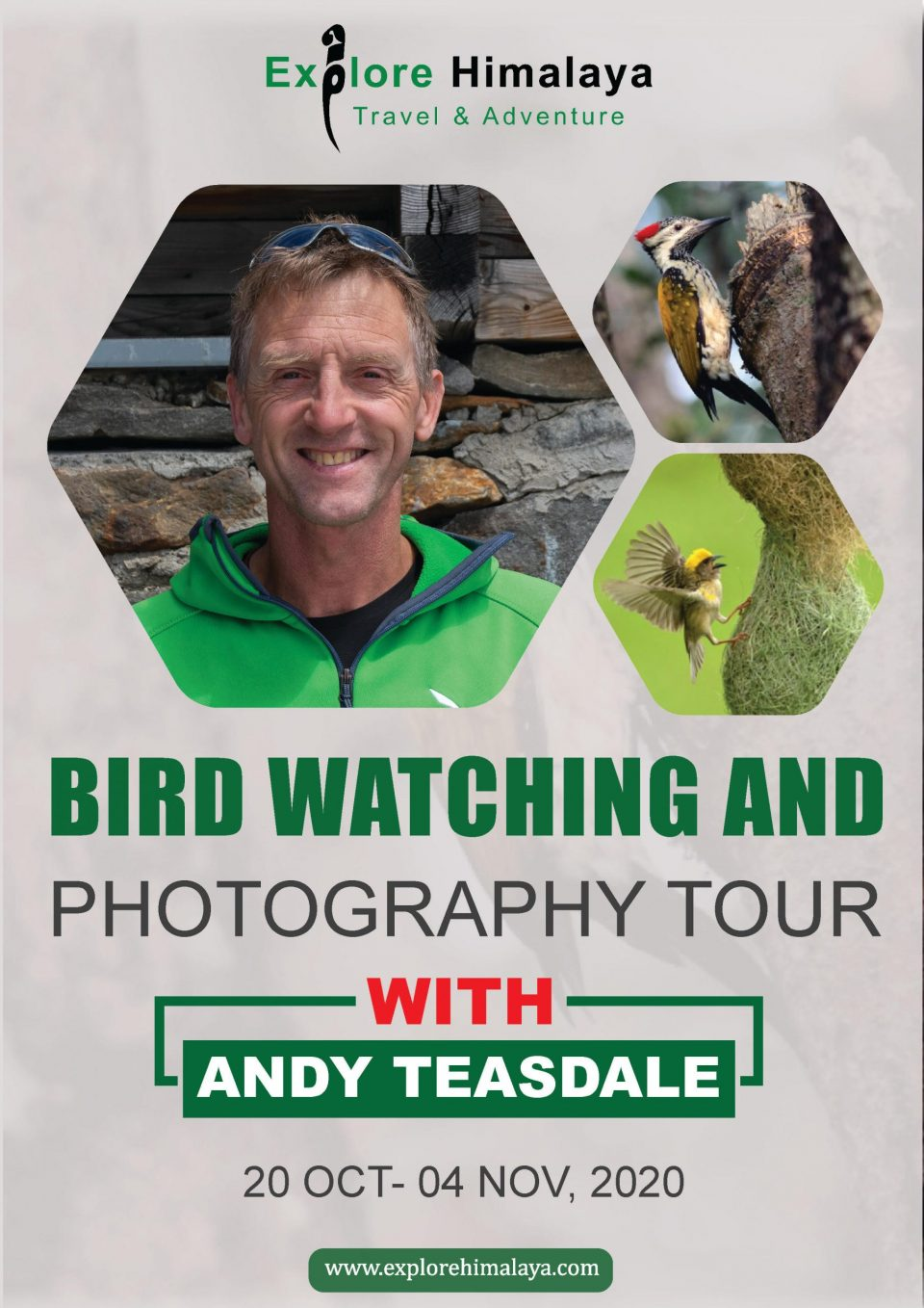 Bird Watching And Photography Tour with Andy Teasdale