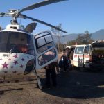 Birth aboard Fishtail Air's Chopper